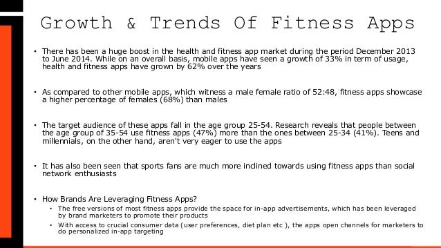 Top 10 Android Fitness Applications By MindShift Metrics Slide 2