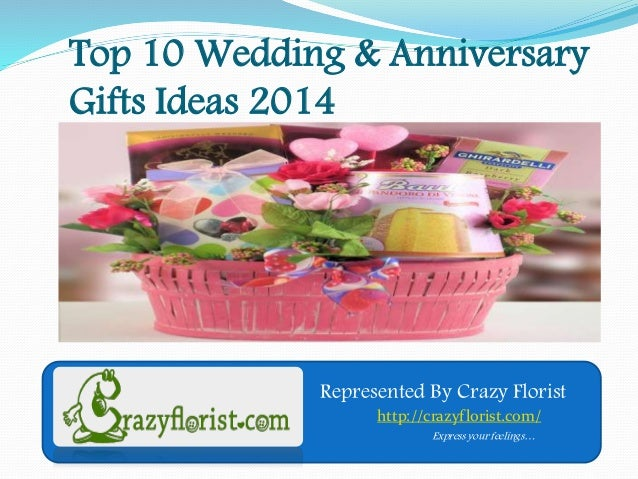 10 Wedding Anniversary Gift Ideas: Top 10 Anniversary,wedding Gifts Ideas For Couple In 2014