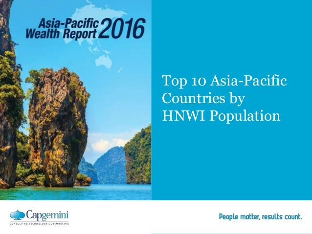Top 10 Asia-Pacific Countries by HNWI Population