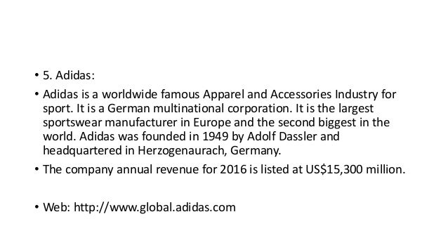 Top 10 apparel brands in the world 2017