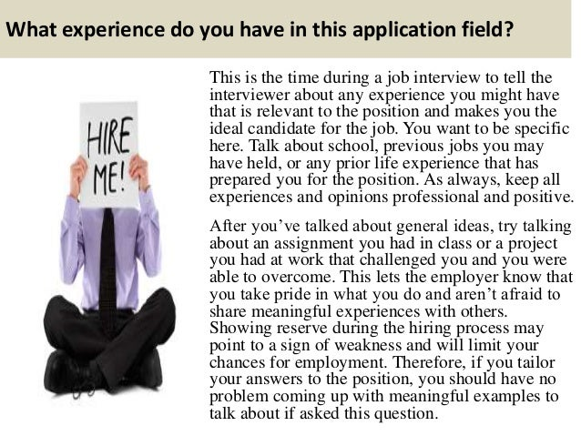 why am i applying for this position