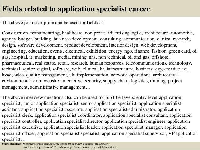 Ultrasound Application Specialist Sample Resume Cover Letter ...