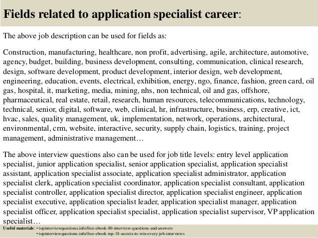 Top 10 application specialist interview questions and answers – Ultrasound Applications Specialist