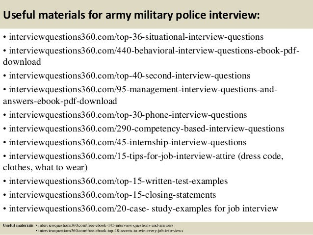what to wear for military interview