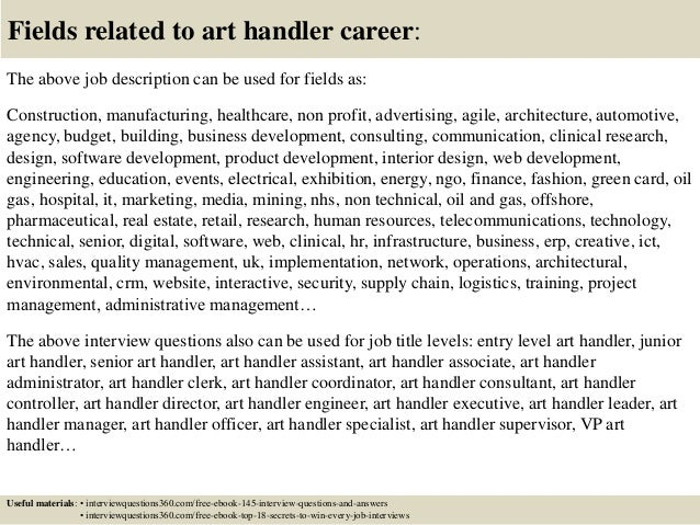Beautiful ... 18. Fields Related To Art Handler ...