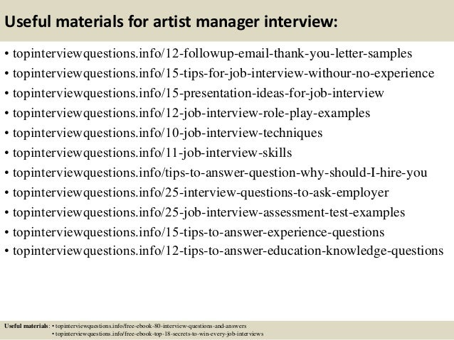 14 useful materials for artist manager - What Is A Artist Manager