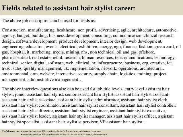 Superior ... 18. Fields Related To Assistant Hair Stylist ...