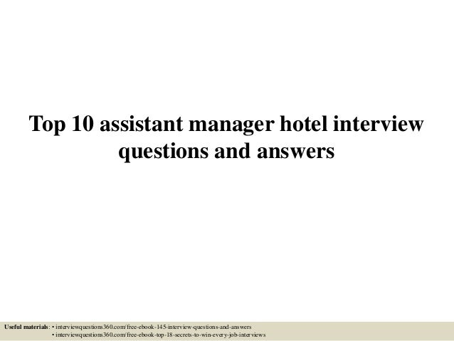 Interview questions for a supervisory position akbaeenw interview fandeluxe Gallery