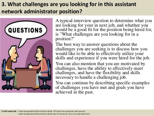 5 3 - Network Administrator Interview Questions And Answers