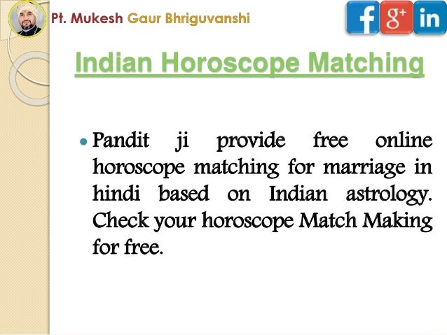 Free Kundli Milan for Marriage