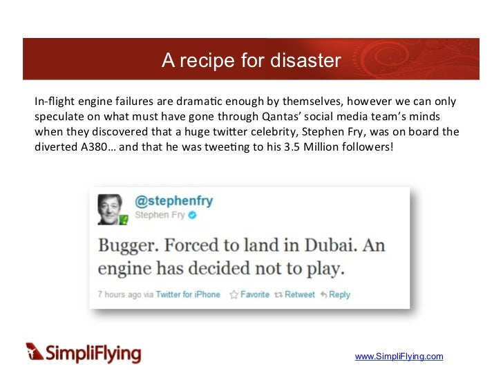 A recipe for disasterIn-‐flight engine failures are drama7c enough by themselves, however we can onl...