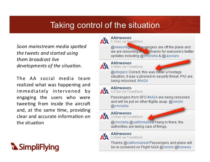 Taking control of the situationSoon mainstream media spo:ed the tweets and started using them broadcas...