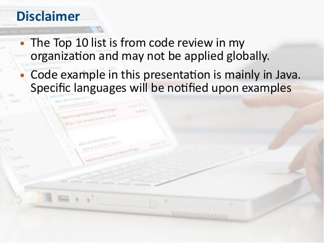Top 10 Bad Coding Practices Lead to Security Problems Slide 3