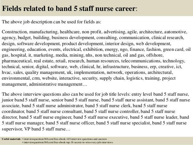 band 5 nurse personal statement