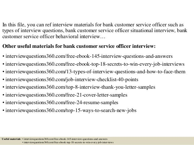 what is customer service interview question