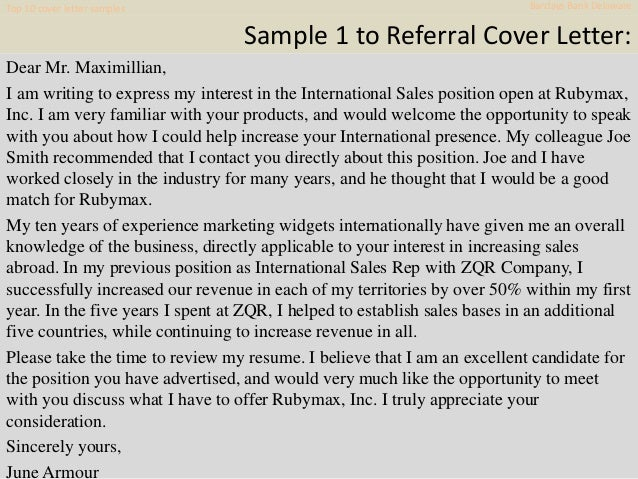 Top 10 Barclays Bank Delaware Cover Letter Samples