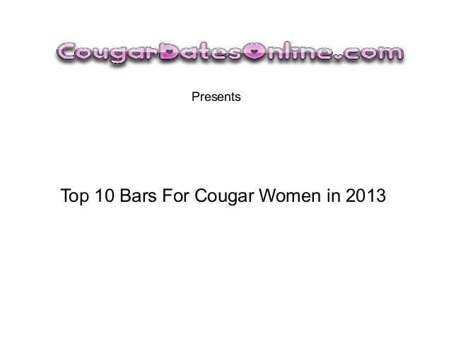 PresentsTop 10 Bars For Cougar Women in 2013