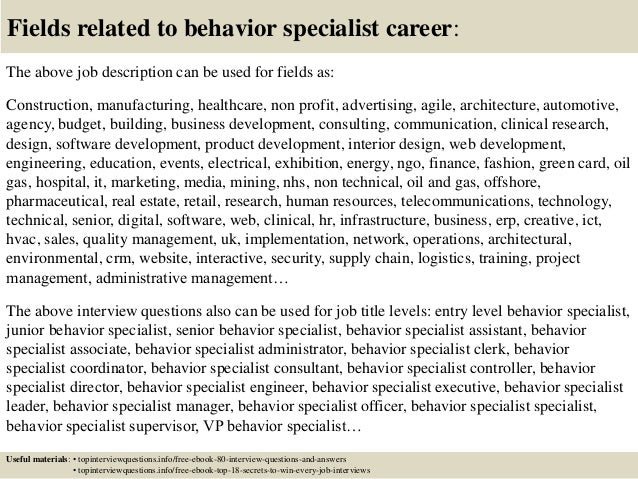 behavioral specialist jobs download by tablet desktop ...