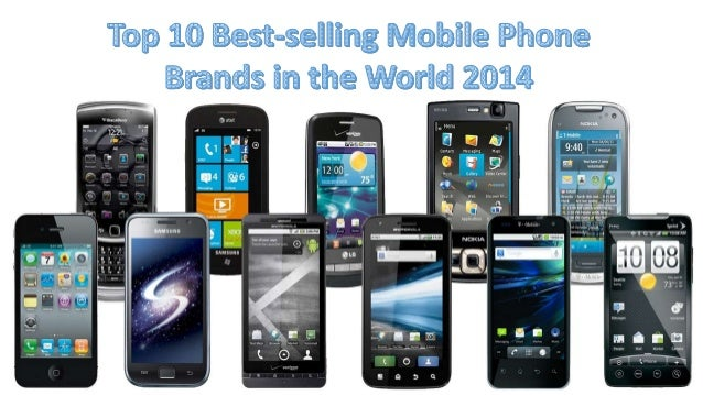 Top smartphone brands in the world