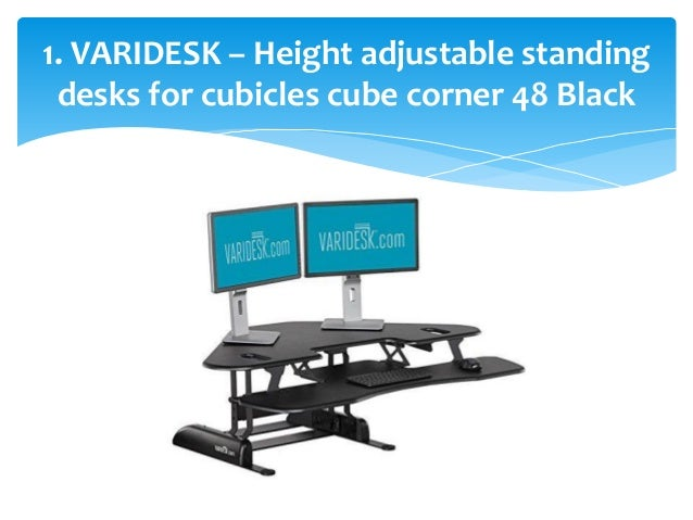 Top 10 Best Adjustable Standing Desks In 2017