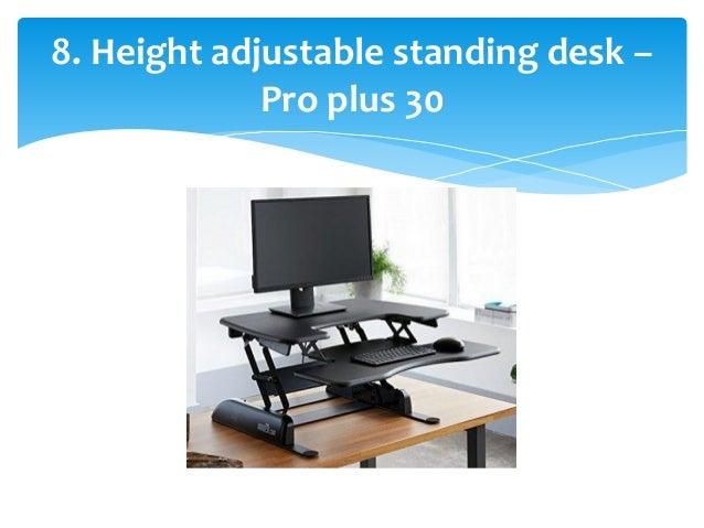 Top 10 Best Adjustable Standing Desks In 2017