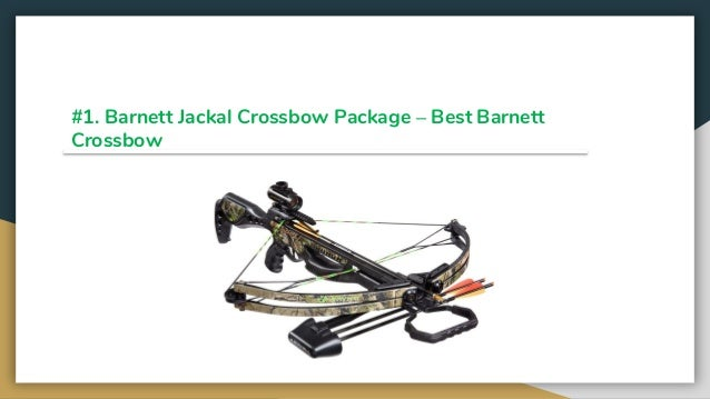 Top 10 best barnett crossbows 2019 review