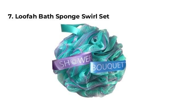 Loofah Bath Sponge Swirl Set ...