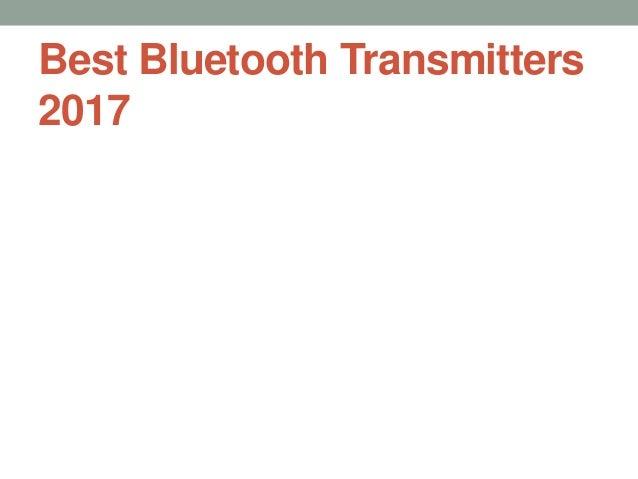 Best Bluetooth Transmitters 2017