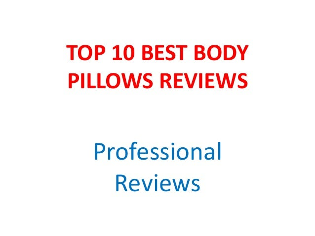 TOP 10 BEST BODY PILLOWS REVIEWS Professional Reviews