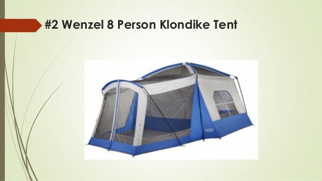 #2 Wenzel 8 Person Klondike Tent ...  sc 1 st  SlideShare & Top 10 best cabin tents for family in 2018 reviews