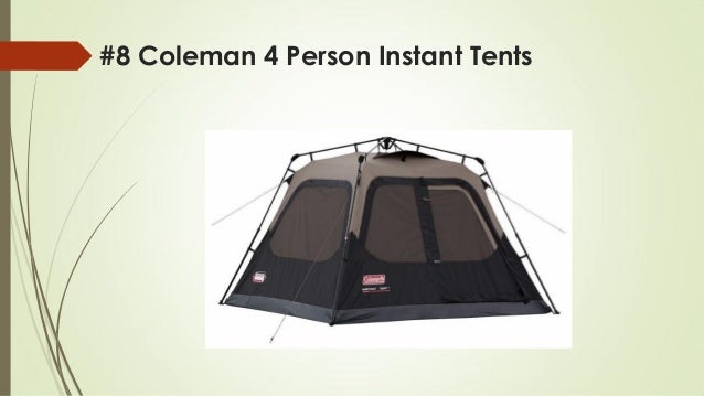 #8 Coleman 4 Person Instant Tents ... & Top 10 best cabin tents for family in 2018 reviews