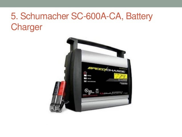 Top 10 best car battery chargers 2017