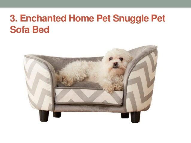 Enchanted Home Pet Snuggle Pet Sofa Bed ...