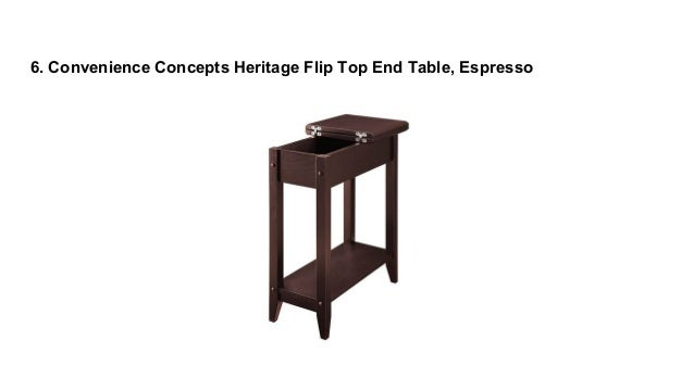 Top 10 Best End Tables With Storage In 2018 Reviews