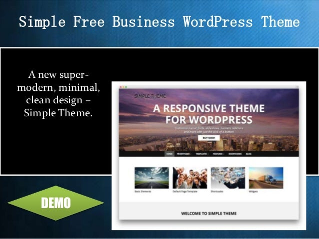 Top 10 best free wordpress business themes 2015 zerif lite free onepage wordpress theme demo 3 simple free business accmission Image collections