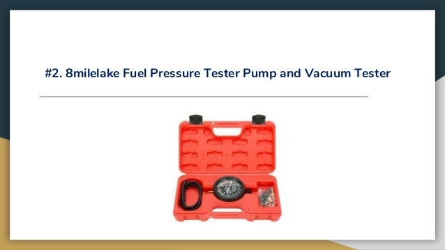 Top 10 best fuel pressure testers in 2019 review