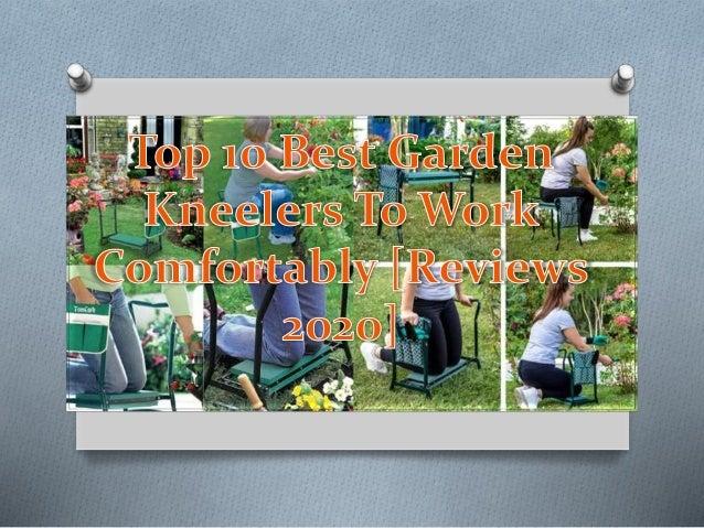 10. Garden Kneeler & Seat by Abco Tech