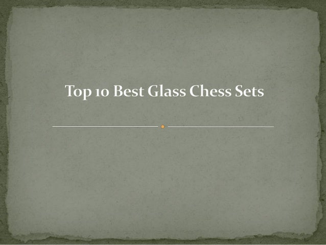 More Detail: http://toptenproductreview.com/best-glass-chess-sets/