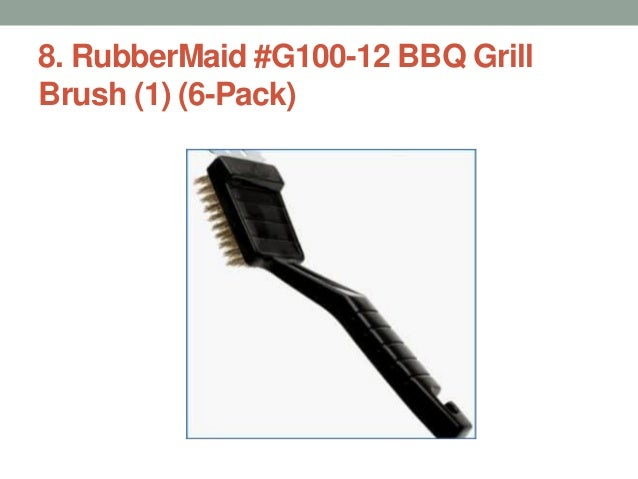 RubberMaid #G100-12 BBQ Grill Brush