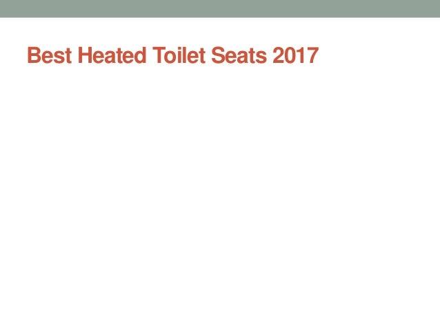 Best Heated Toilet Seats 2017