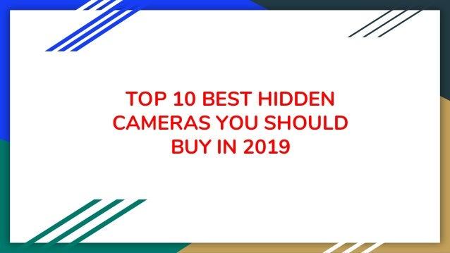 TOP 10 BEST HIDDEN CAMERAS YOU SHOULD BUY IN 2019