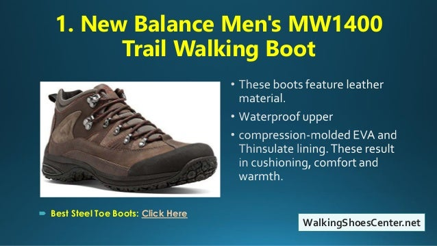 Top 10 Best Hiking Boots For Men | Most Comfortable Hiking Boots