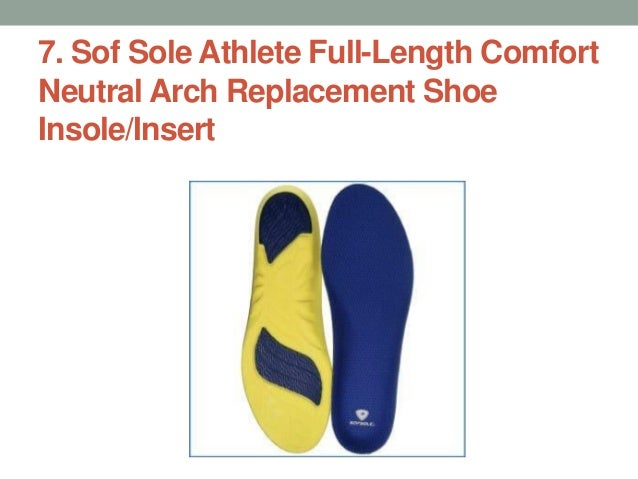 7a52df54a4 ... Insoles; 5. 7. Sof Sole Athlete Full-Length Comfort Neutral Arch  Replacement Shoe Insole/Insert ...