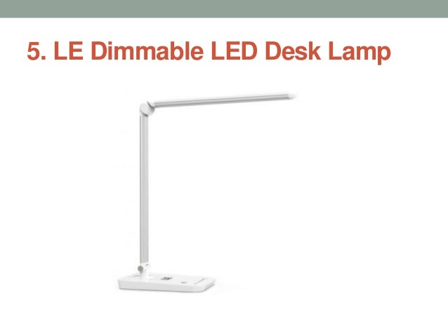 Pleasant Top 10 Best Led Desk Lamps In 2017 Home Interior And Landscaping Elinuenasavecom