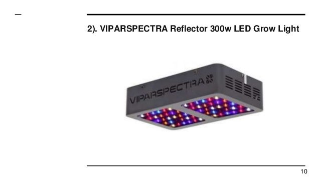 Top 10 Best Led Grow Lights In 2017 Reviews