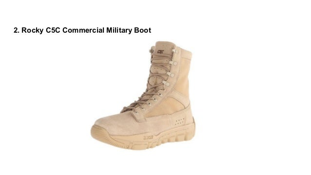 Top 10 Best Military Boots With Ankle Support In 2017 Reviews