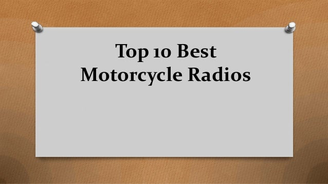 Top 10 Best Motorcycle Radios