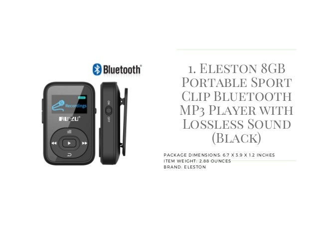 top 10 best mp3 players with bluetooth reviews. Black Bedroom Furniture Sets. Home Design Ideas