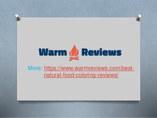 Top 10 best natural food coloring reviews in 2019