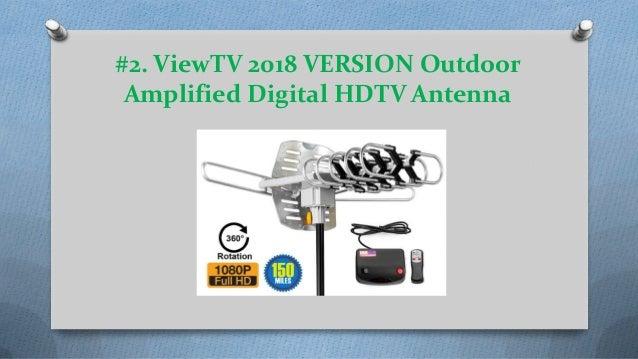Top 10 best outdoor tv antennas reviews in 2018